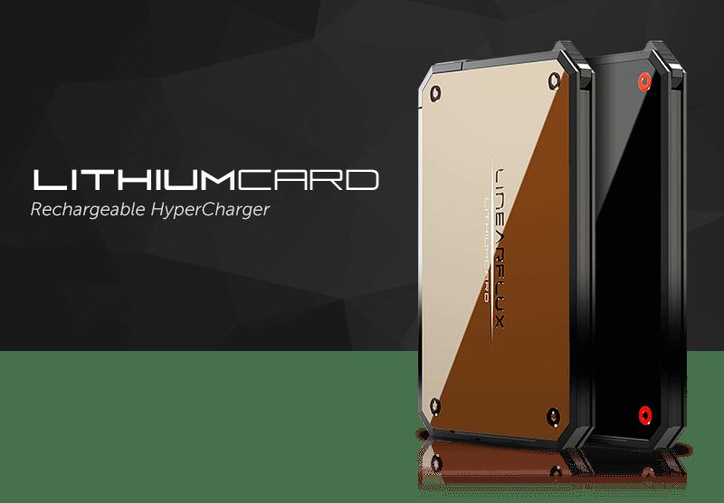 LithiumCard é uma bateria ultra-rápida para carregar na carteira 5