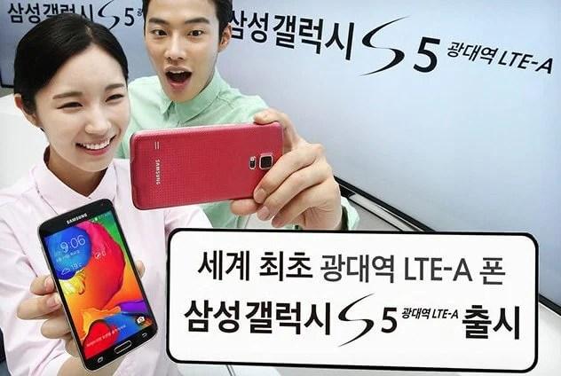 Samsung lança versão do Galaxy S5 com processador mais potente e tela de ultra resolução 7