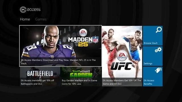 eaaccess - EA Access vai permitir assinatura de jogos no Xbox One