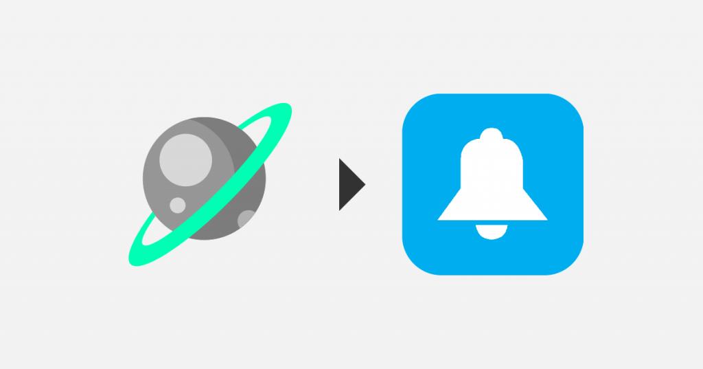 if space then ios notifications - Receita do IFTTT te avisa toda vez que um astronauta for pro espaço (e outras)