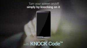 lg knock code - Vídeo Patrocinado: LG Knock Code