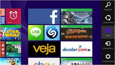 windows 8 botoes - Windows 9 terá desktops virtuais e barra de Botões será excluída