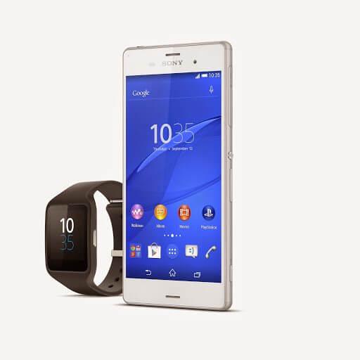 15 Xperia Z3 SmartWatch 3 - Sony apresenta Xperia Z3, SmartBand Talk e SmartWatch 3 na IFA