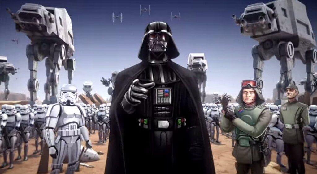 Star Wars Commander - Dart Vader