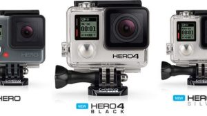 GoPro lança nova linha de câmeras 15