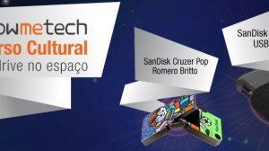 """capa concurso cultural showmetech sandisk - Resultado: concurso cultural """"Um Pendrive no espaço!"""""""