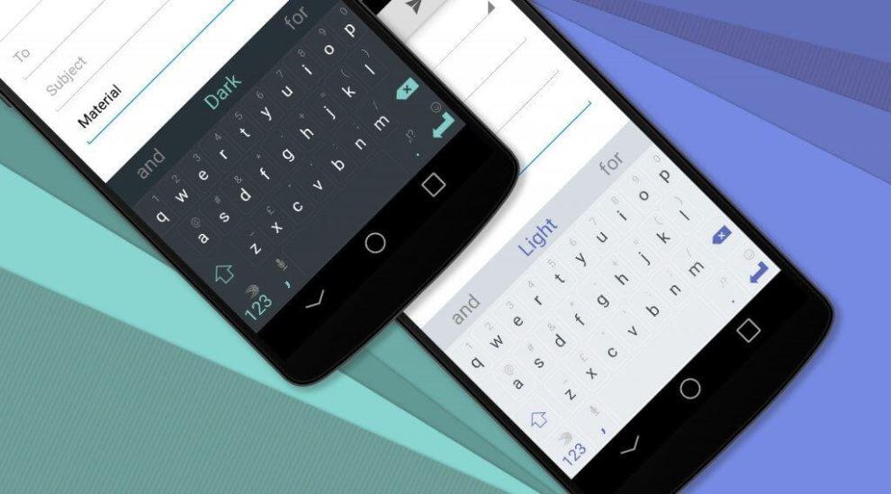 material design blog v1 1024x568 - Swiftkey entra na onda do Android Lollipop e lança temas baseados no Material Design