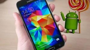 Galaxy S5 deve receber o Android 5.0 Lollipop em dezembro 9