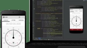 laptop studio1 - Desenvolvedores Android já podem baixar o Android Studio 1.0 RC1