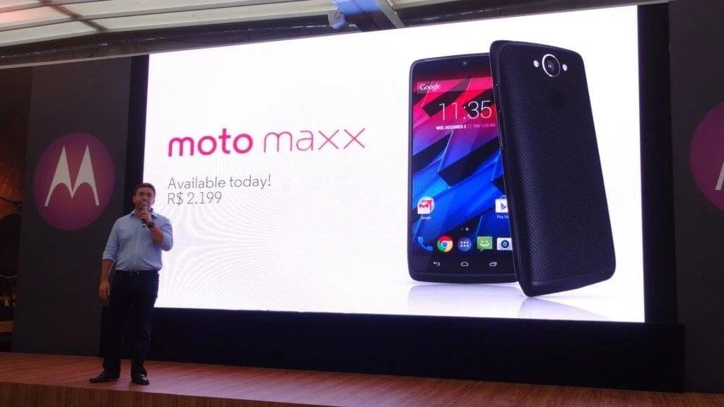 motorola moto maxx - Moto Maxx e Moto 360 começam a ser vendidos no Brasil