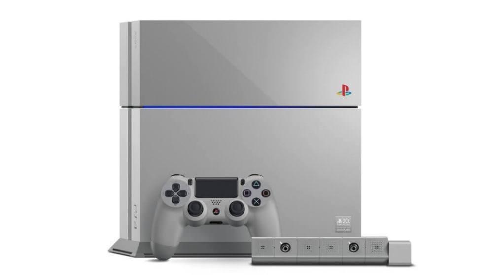20th anniversary edition ps4 console revealed djnx 1920 - Sony lança edição de PlayStation 4 em comemoração aos 20 anos da marca