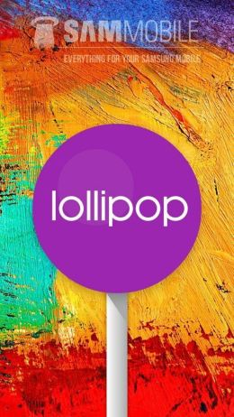 android 5 0 lollipop no samsung galaxy note 3 1 - Android 5.0 Lollipop para Note 3 - Preview
