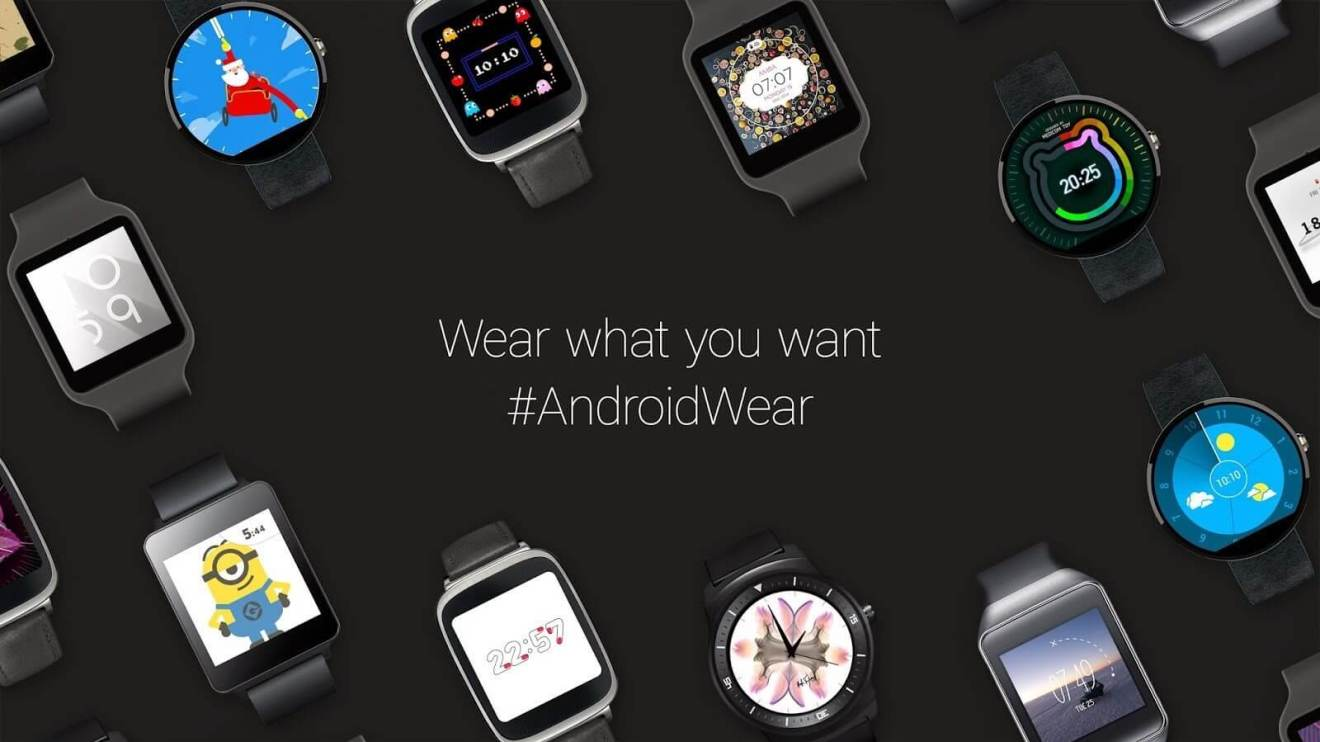 android wear watch faces official - Android Wear terá suporte a Wi-Fi e controle por gestos
