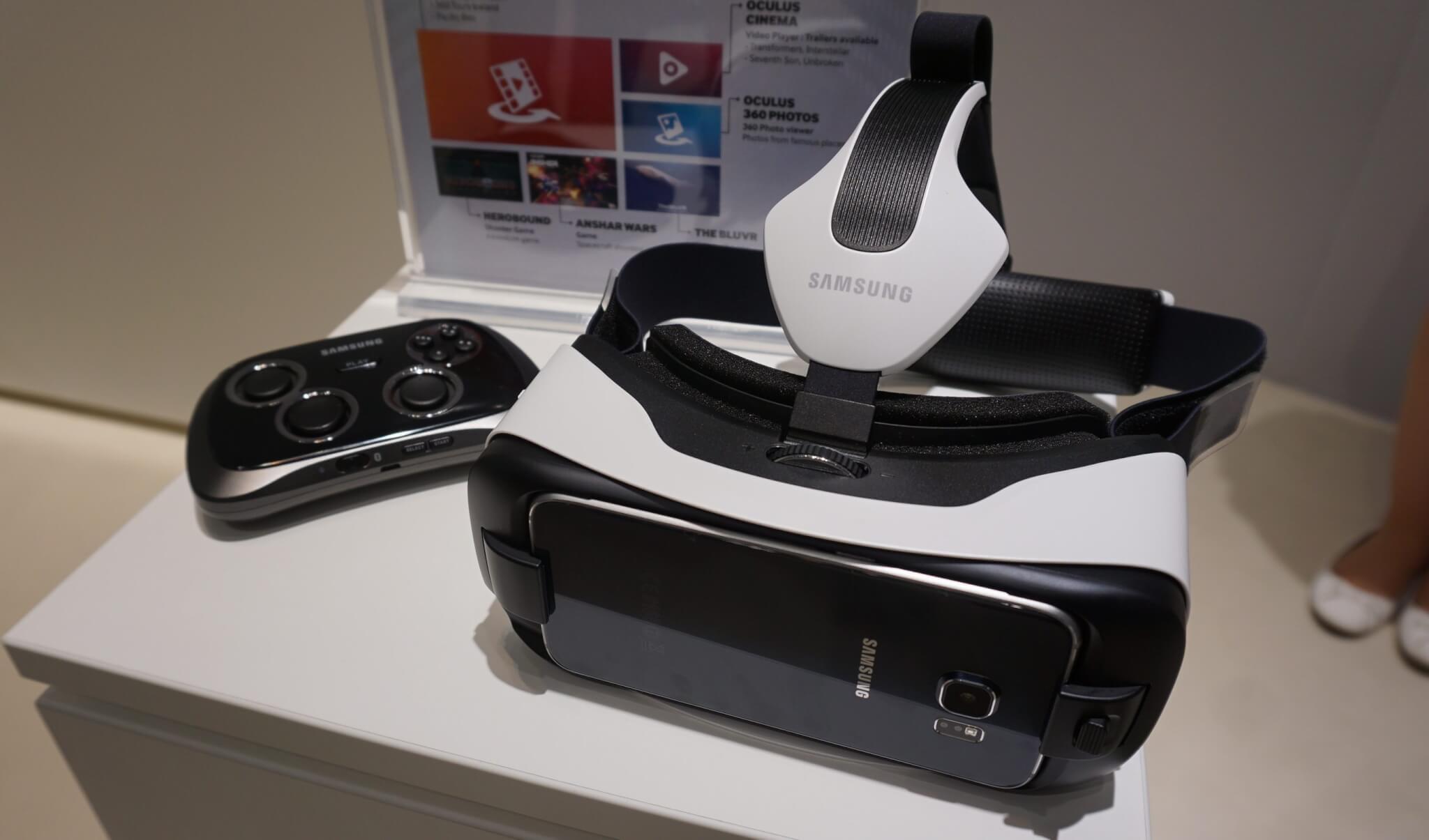 Samsung Gear VR ganha nova versão 15% menor com diversas