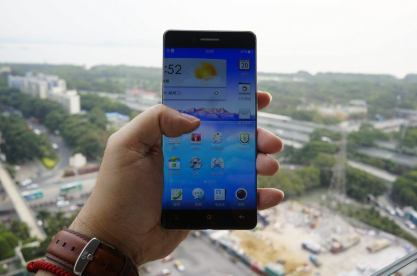oppo phone 02 - Novo smartphone da Oppo tem bordas quase invisíveis