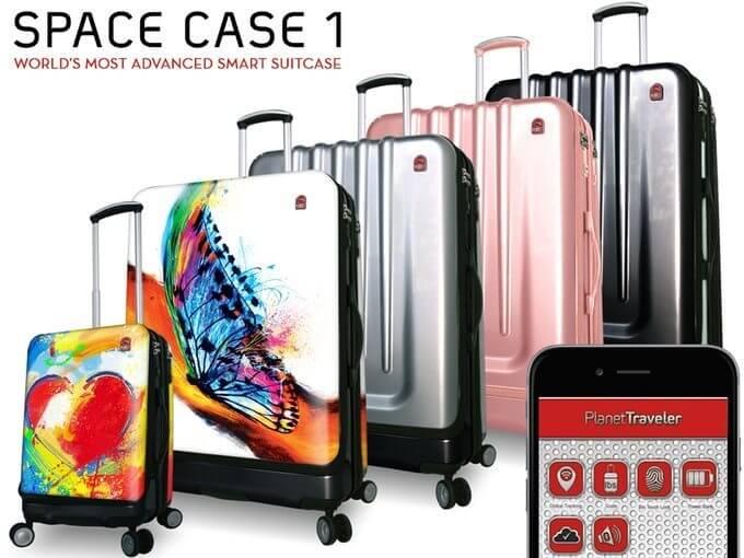 Conheça a Space Case 1, a mala mais inteligente do mundo 3