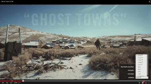 Ghost Towns video em 8K