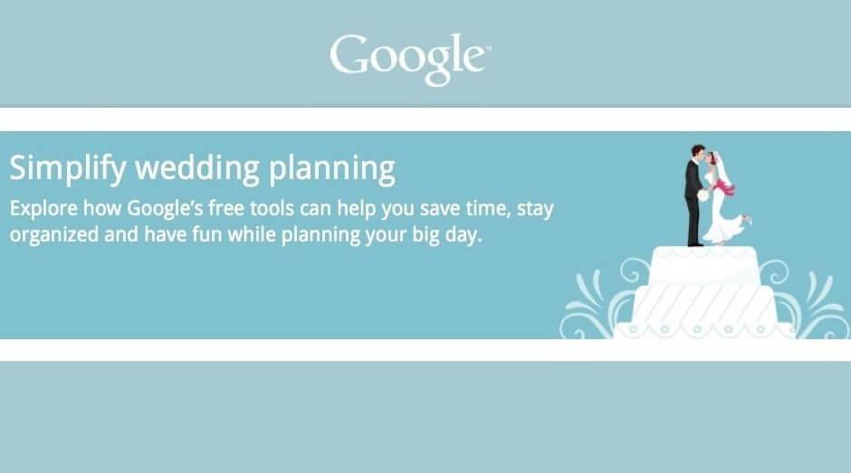 Google Weddings promete ajudar a planejar o casamento 3
