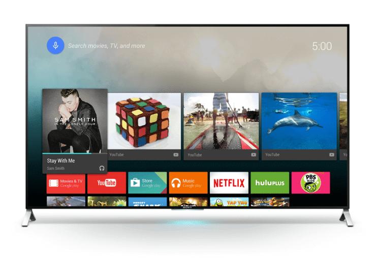 sony android tv google - Sony apresenta a primeira linha de Android TVs 4K do Brasil