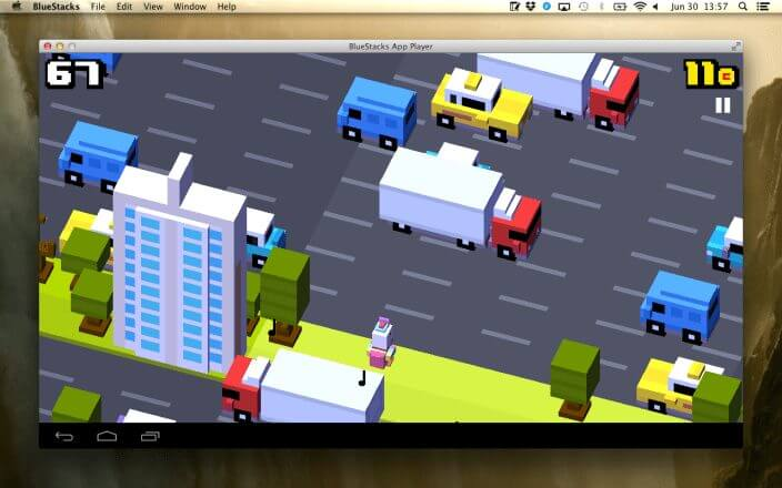 crossy road on mac with bluestacks - Apps do Android chegam no Mac com Bluestacks App Player