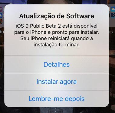 ios9 2a - Como instalar o iOS 9 Beta