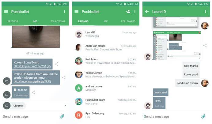 pushbullet app ui - Pushbullet recebe atualizações com diversas novidades