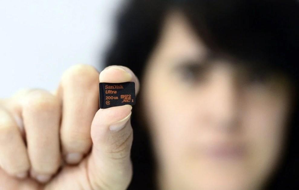 smt sandisk capa - Buscando competitividade, SanDisk pode estar negociando sua venda