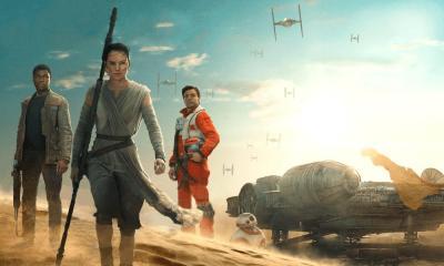 """star wars episode vii the force awakens hd wallpaper finn rey and poe - Crítica: """"Star Wars: O despertar da Força"""" é o filme mais honesto da saga até agora"""