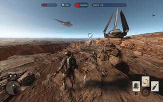 starwarsbattlefront cena gameplay missao 3 pessoa - Game Review: Star Wars Battlefront