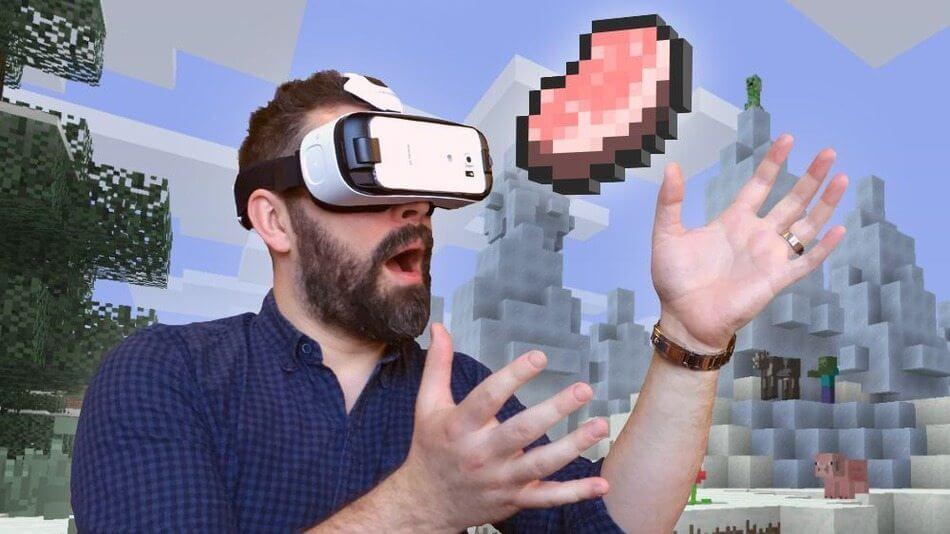 Jogue Minecraft em Realidade Virtual agora mesmo 3