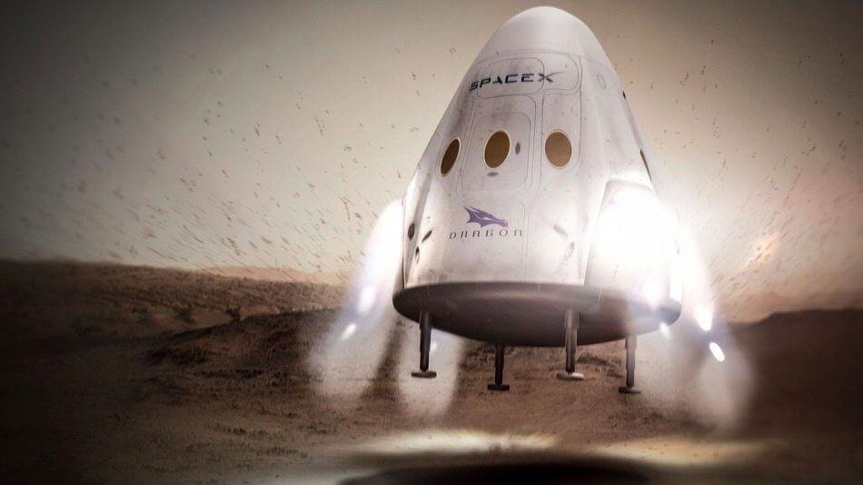spacex missao marte 2018 - SpaceX pretende enviar missão a Marte em 2018