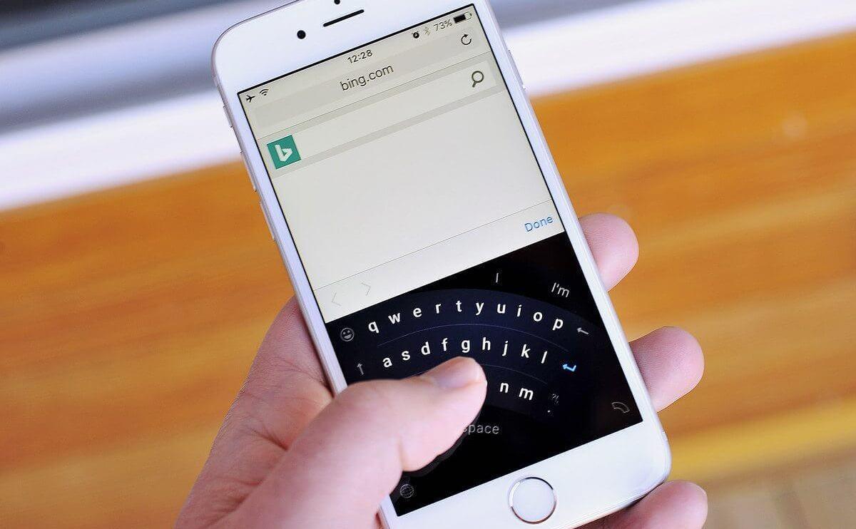 Vazam imagens do teclado Word Flow da Microsoft para o iPhone 8