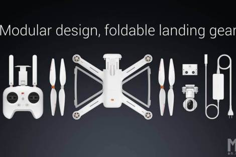 mi drone pecas - Xiaomi lança drone com câmera 4K e sistema de pouso automático
