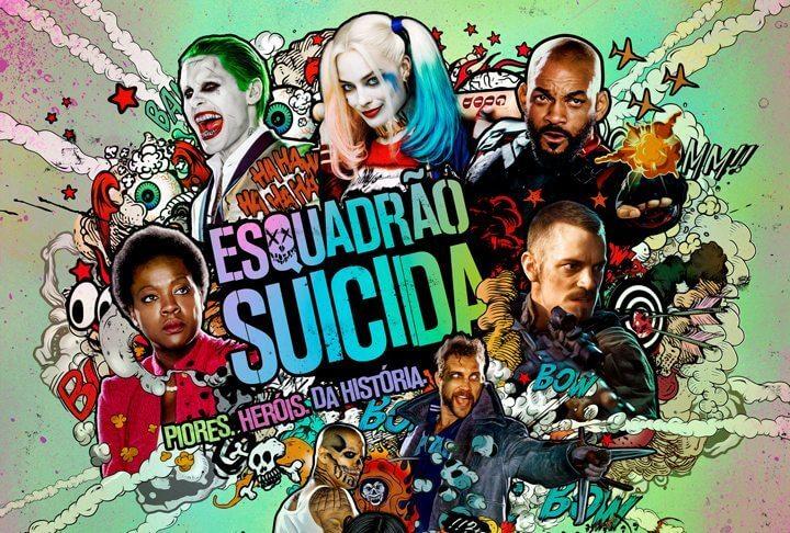 """Esquadrão Suicida capa - Vilões de """"Esquadrão Suicida"""" ganham novas artes individuais"""