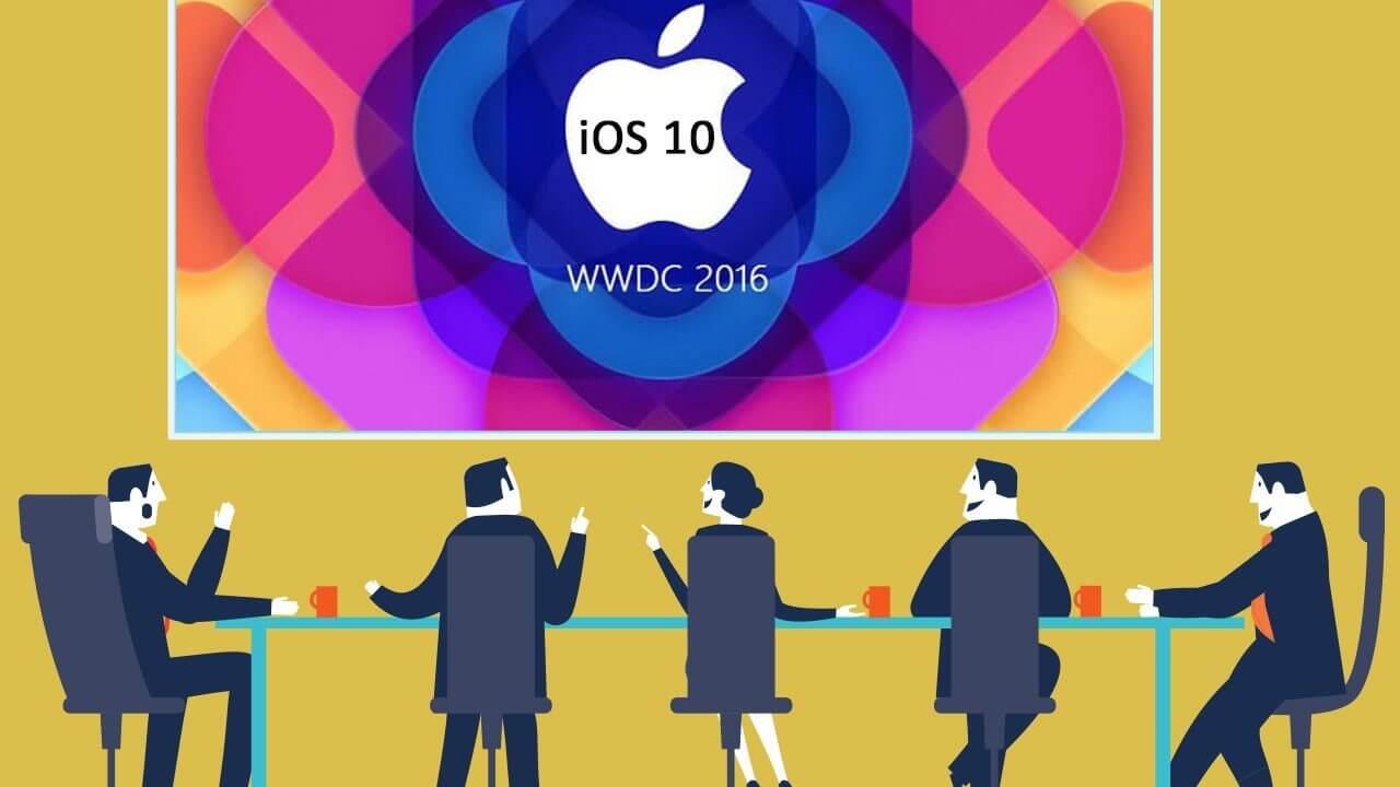 smt ios10 capa - WWDC 2016: Veja o resumo das principais novidades apresentadas pela Apple