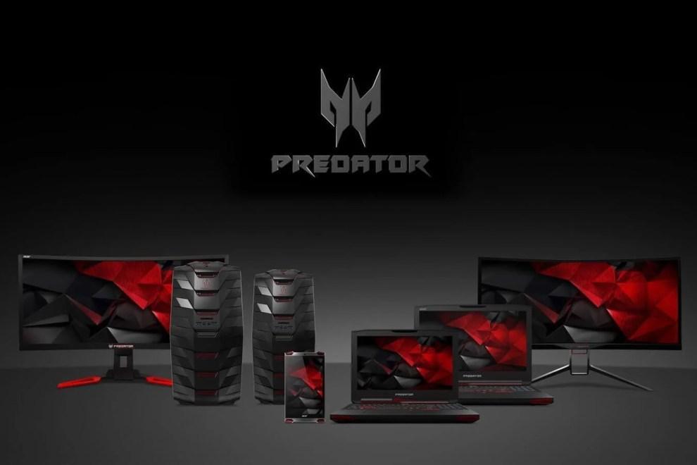 ACER Predator Capa - Acer apresenta nova linha de notebooks e monitores gamer