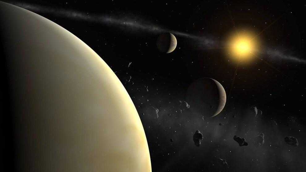 HD 131399Ab: Astrônomos descobrem planeta com 3 sóis 4
