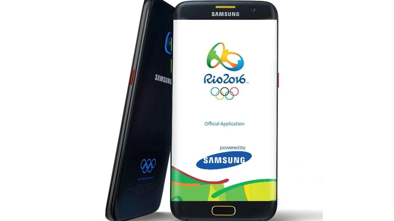 Samsung  Galaxy S7 edge Olympic Games Limited Edition - Samsung lança edição limitada do Galaxy S7 edge Jogos Olímpicos