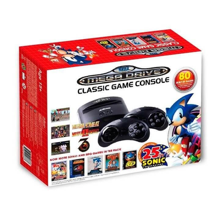 mini Mega Drive com 80 jogos - Nova guerra dos consoles: Sega vai relançar Mega Drive com 80 jogos