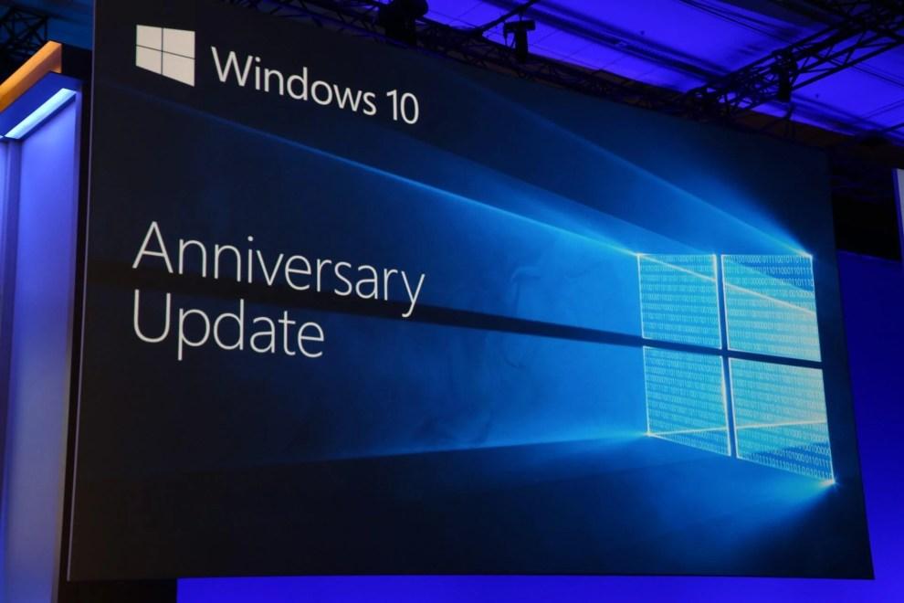 Atualização de aniversário Capa - Atualização de aniversário do Windows 10 promove grande update. Conheça as principais novidades