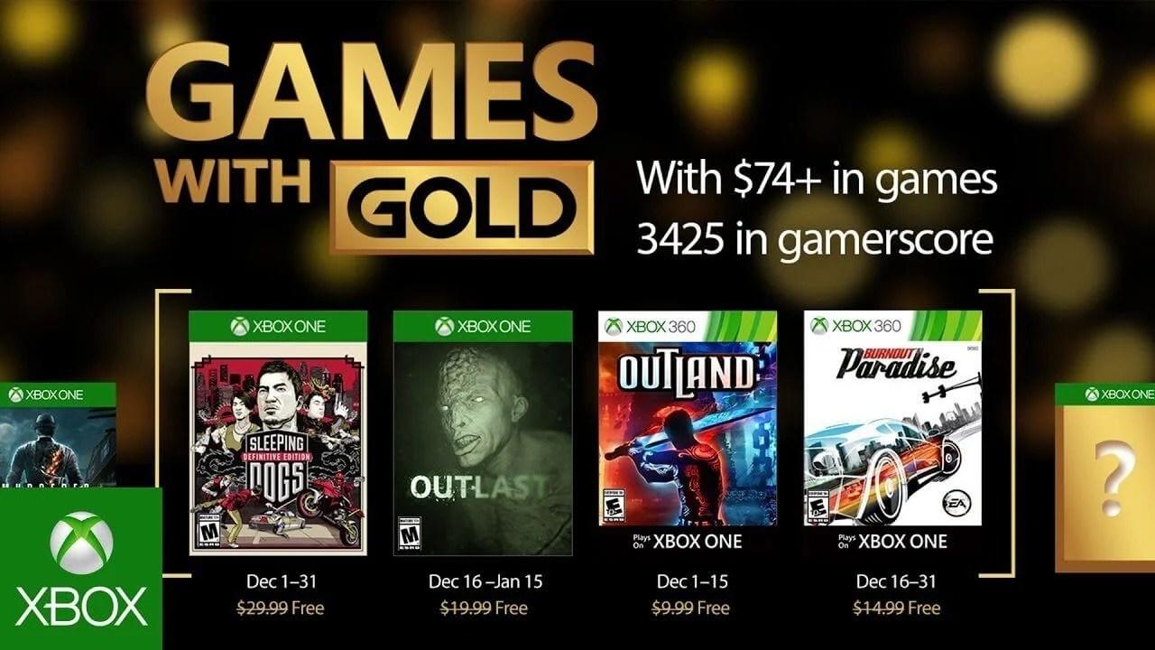 Games with gold dezembro 2016 - Games with Gold: jogos grátis na Live para dezembro de 2016