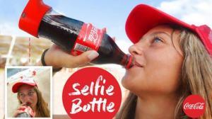 Garrafa Selfie da Coca-Cola