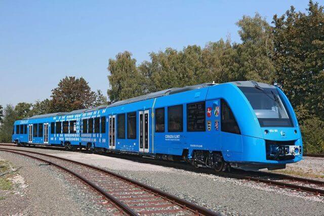 Alemanha está construindo o primeiro trem de transporte com zero emissões de carbono 4