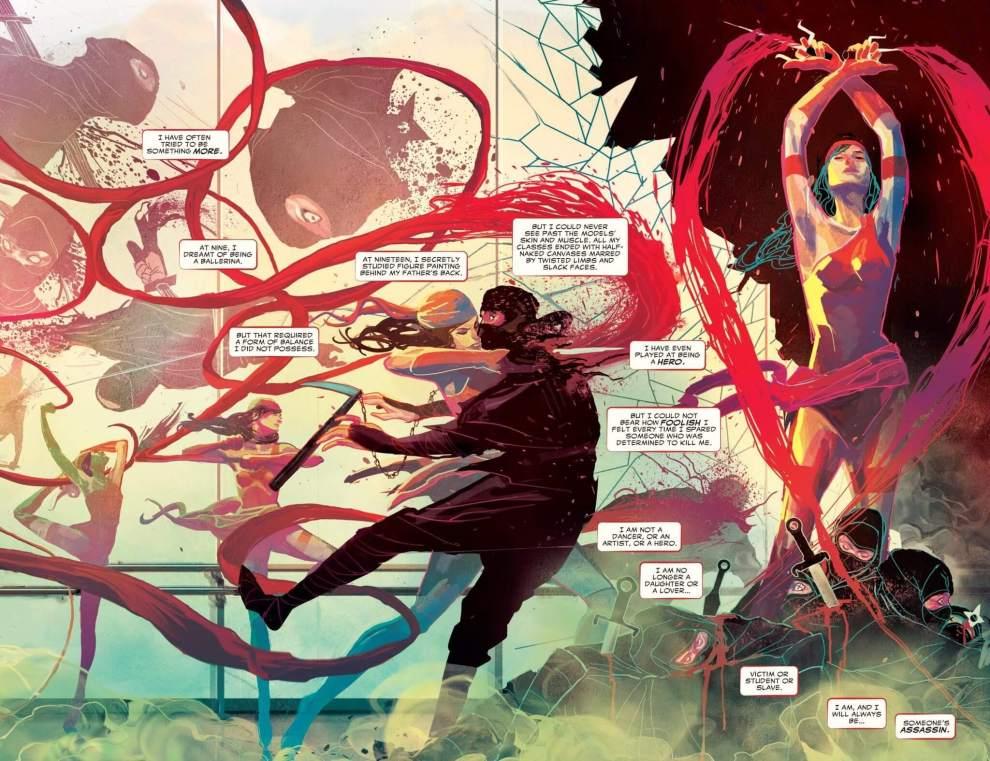 Dica de HQ: Elektra #1 (Totalmente Nova Marvel) - Resenha 5