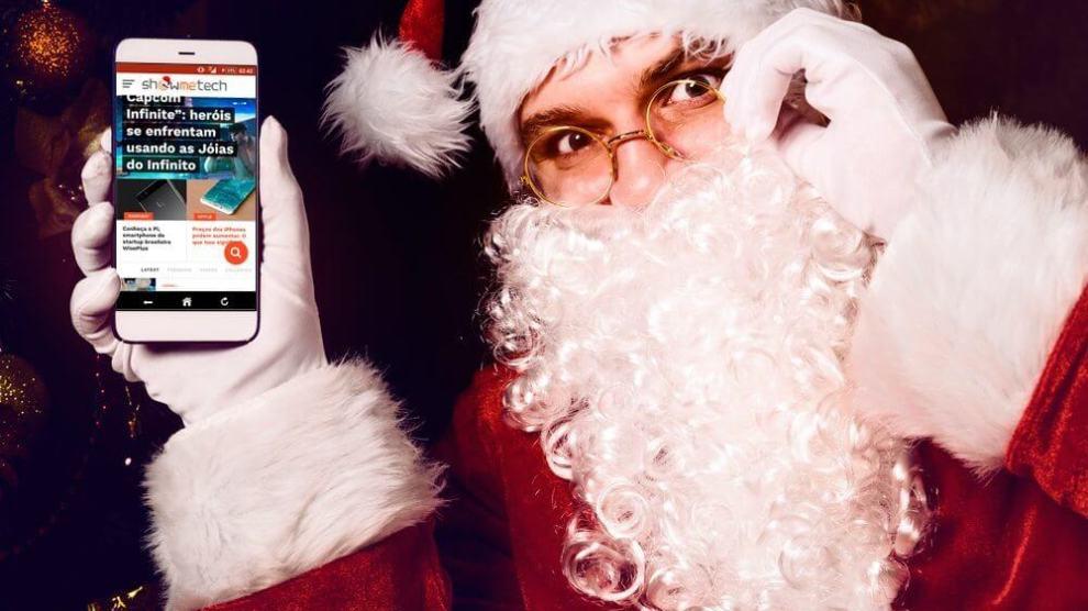 Os melhores smartphones do Natal até R$1.500