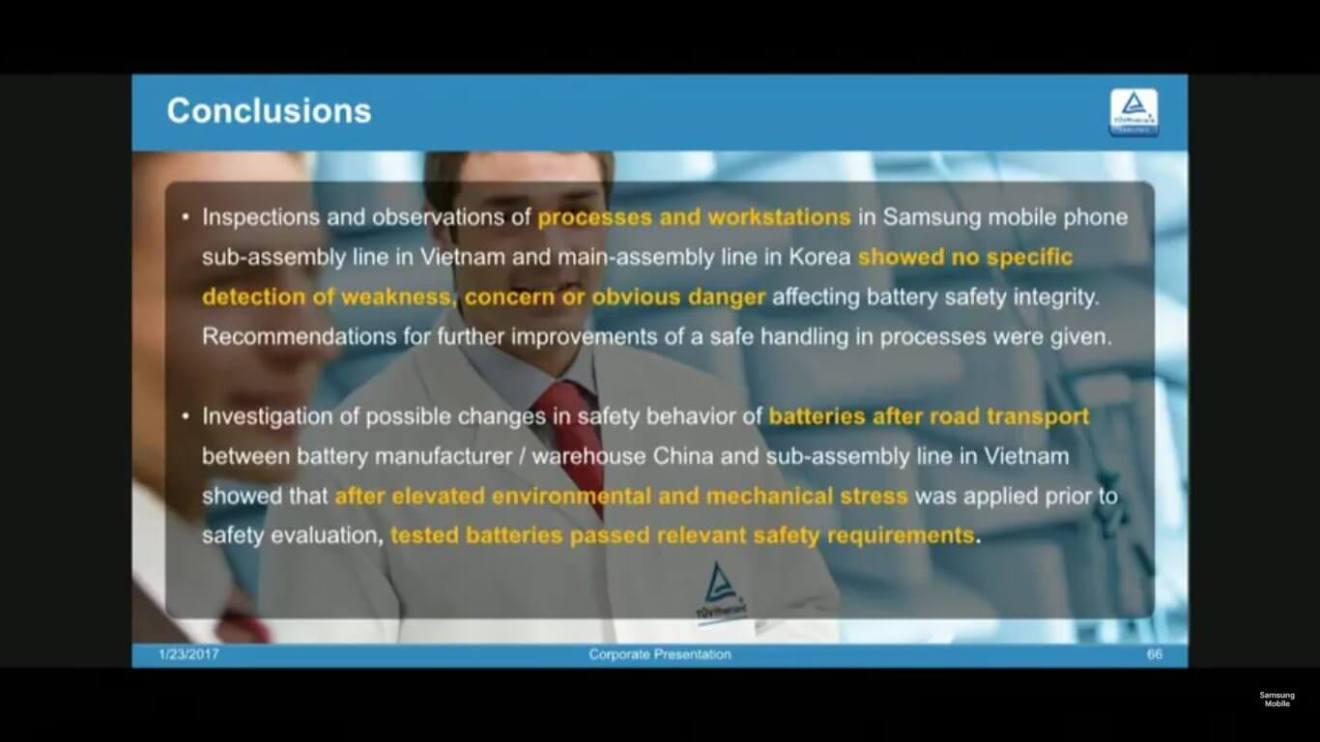 13 - Samsung divulga oficialmente a causa das explosões do Galaxy Note7