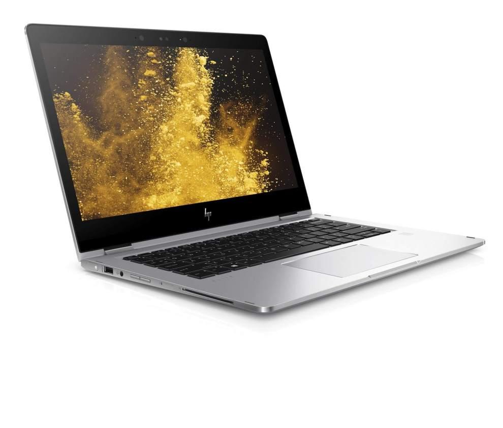 HP EliteBook x360 Front Right - CES 2017: HP anuncia o conversível EliteBook x360, notebook corporativo com bateria de 16 horas