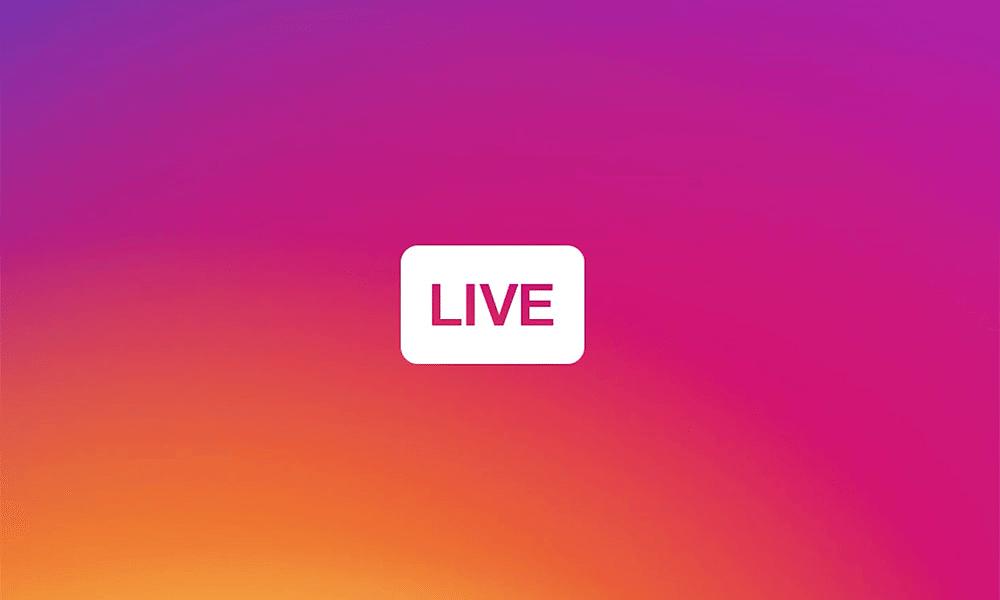 IG Live - Novidade! Faça vídeos ao vivo no Instagram Stories