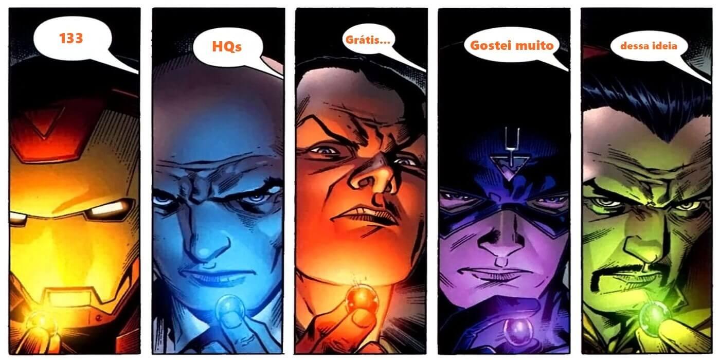 Marvel Illuminati - 133 HQs grátis em inglês