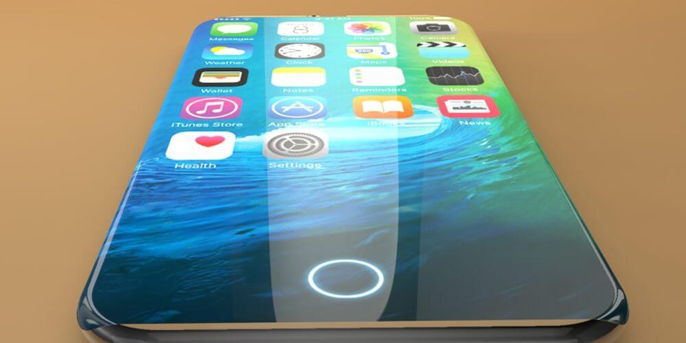 """iphone 7 and iphone 7 edge concept 4 - Rumor: """"iPhone X"""" virá em versões com 64 e 256 GB e sem botão Home"""